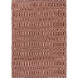 Photo of Benuta Naturals tappeto piano tessuto Sloan rosso scuro 160×230 cm – tappeto moderno per uso soggiorno