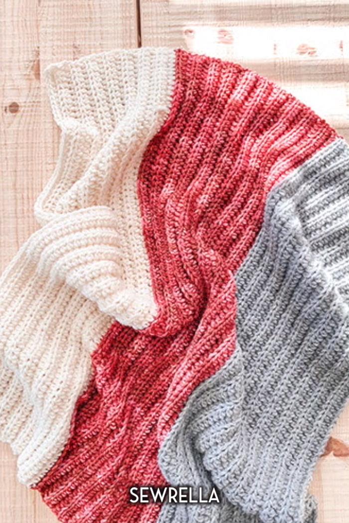 Photo of Beginner Blanket in 12 sizes – free crochet pattern