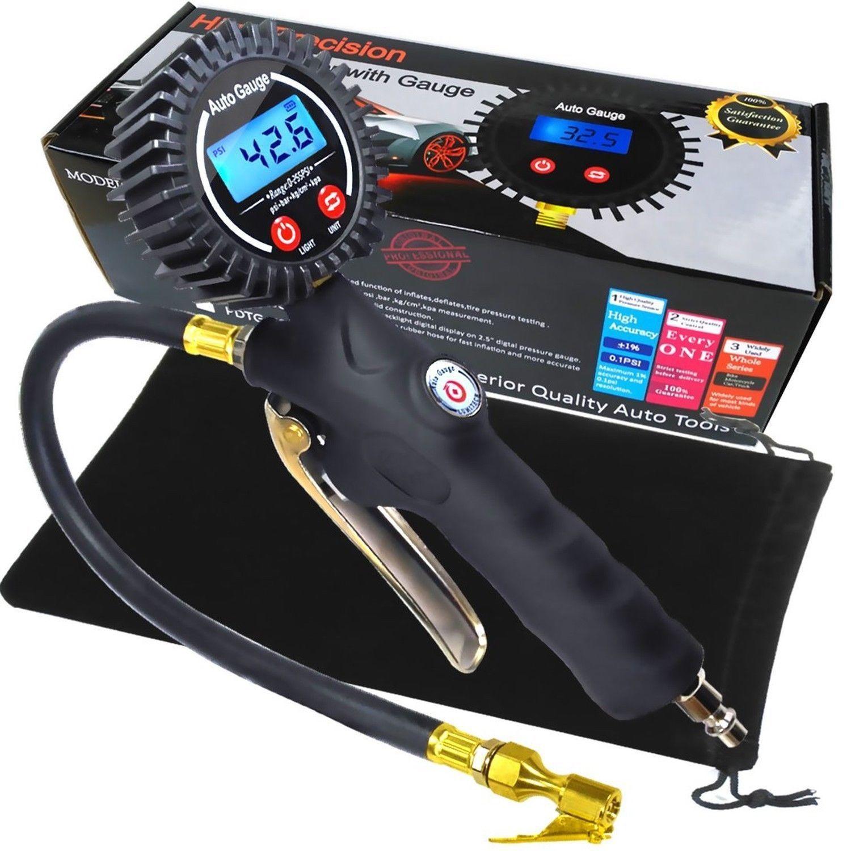 Digital Tire Inflator Tire pressure gauge, Digital