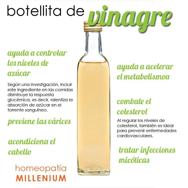 Vinagre blanco o de manzana para adelgazar