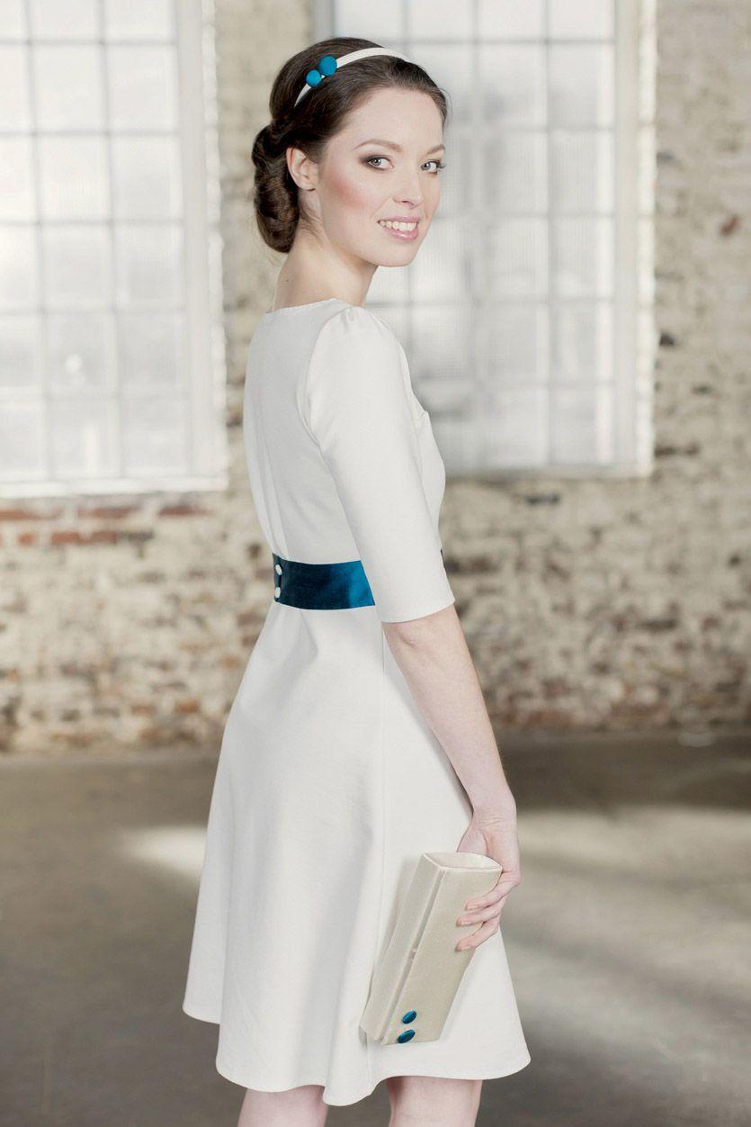 Labude - Brautkleid Emmy Schlichtes Brautkleid, Hochzeitskleid ...