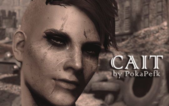 Looksmenu Preset and Replacer for Cait   Fallout 4: Mods