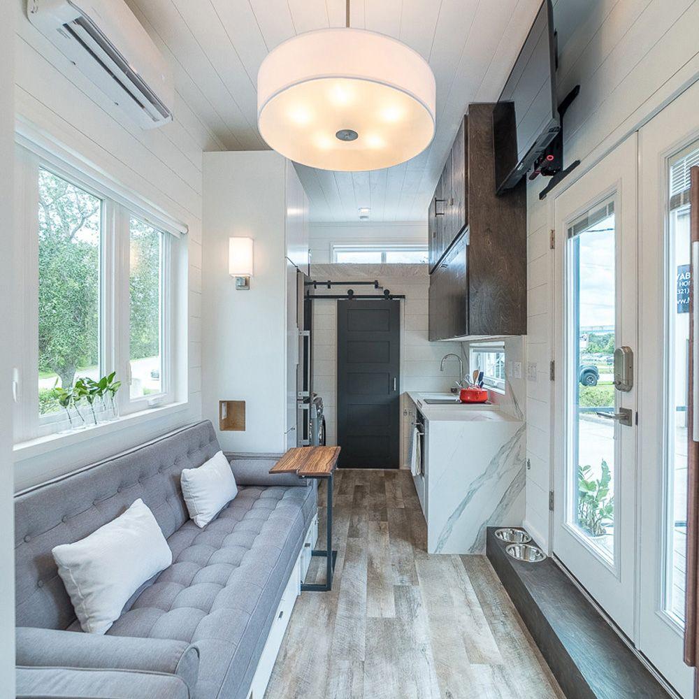 265 sq. ft. Boehm is a loft-free modern tiny house | T I N Y ...