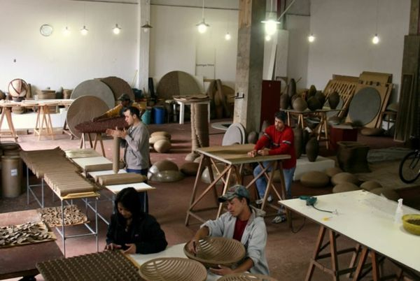 nachhaltiges design domingos totora atelier Möbel - Designer - designer mobel materialmix
