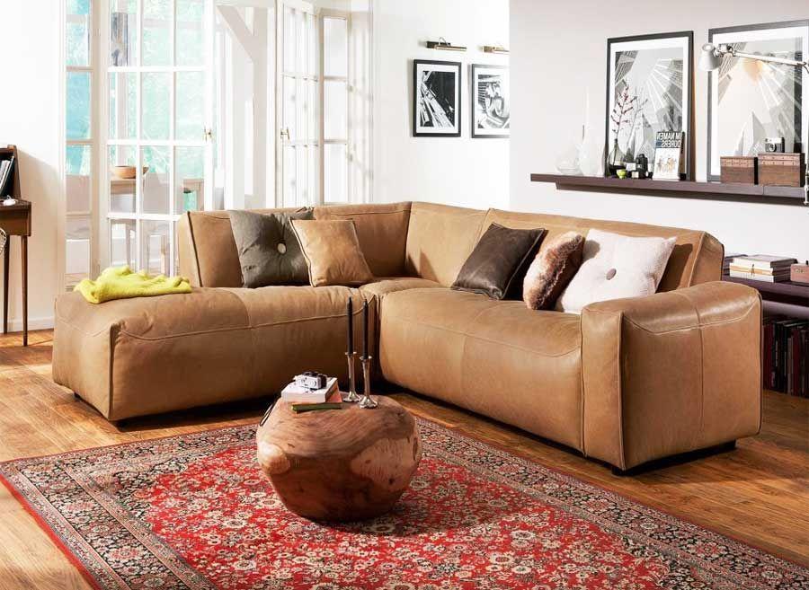 Schön Ecksofa Dunkelbraun Deutsche Deko Pinterest Living Rooms   Wohnzimmer  Braun Streichen Ideen