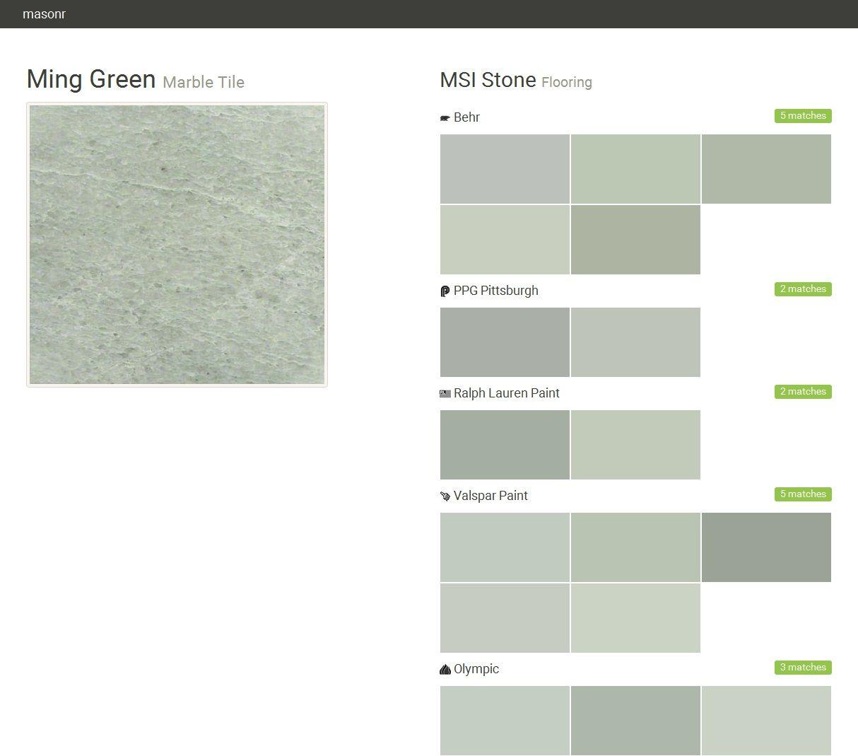Ming green marble tile flooring msi stone behr ppg pittsburgh ming green marble tile flooring msi stone behr ppg pittsburgh dailygadgetfo Choice Image