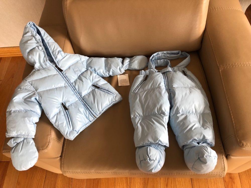 ADD BLUE DOWN JACKET PANTS SET BNWT 6 MONTHS  babystuff  babyclothes 73fb2718c648