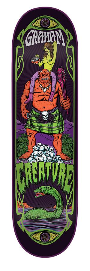 Creature: 9in x 33in Graham Hesh Trippers Pro Deck