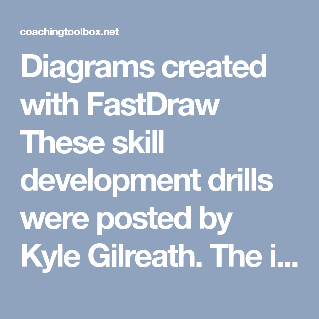 Diagrams Created With Fastdraw These Skill Development Drills Were Posted By Kyle Gilreath The Idea For The Post Is In 2020 Basketball Drills Drill Basketball Skills