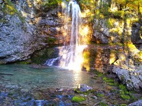 cascate in Vallesinella