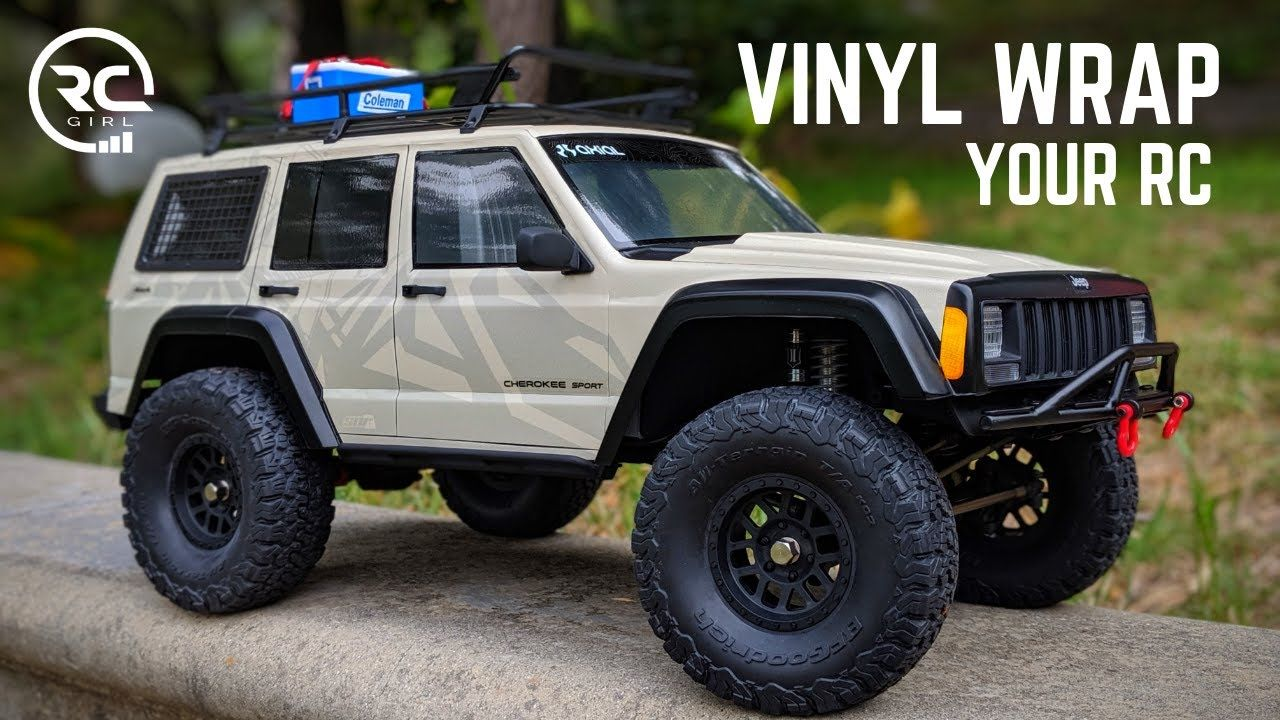 How To Vinyl Wrap Your Rc Axial Scx10ii Cherokee Xj Build