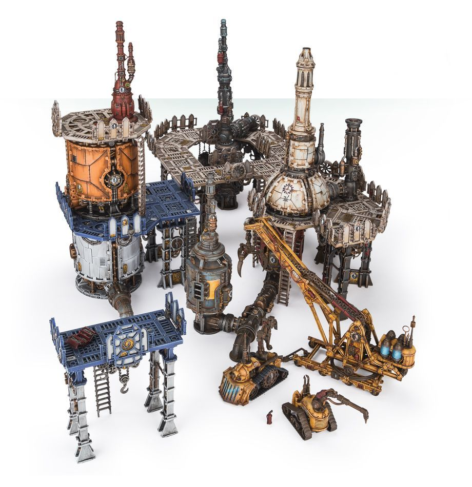 Home Games Workshop Webstore Industrial Terrain Collection Games Workshop Webstore Scènes