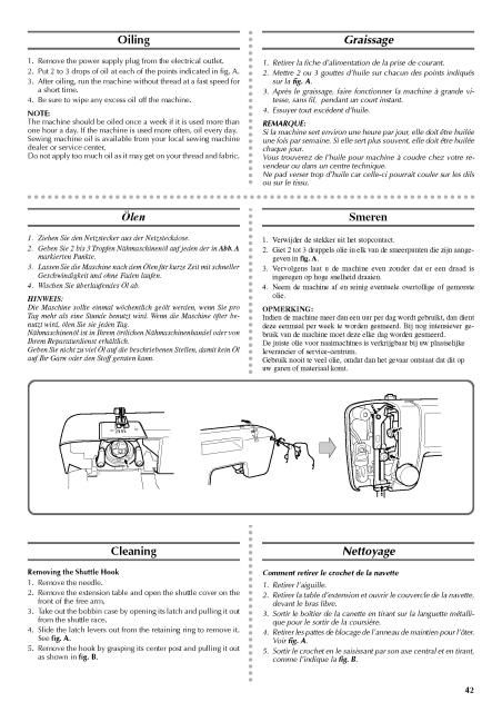 Brother VX 1400 Sewing Machine Instruction Manual Here are just a - instruction manual