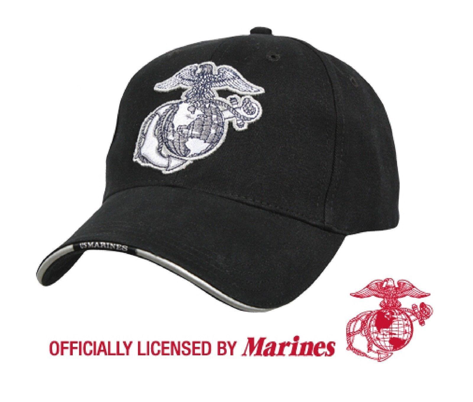 Rothco USMC Globe and Anchor//US Flag Low Pro Cap