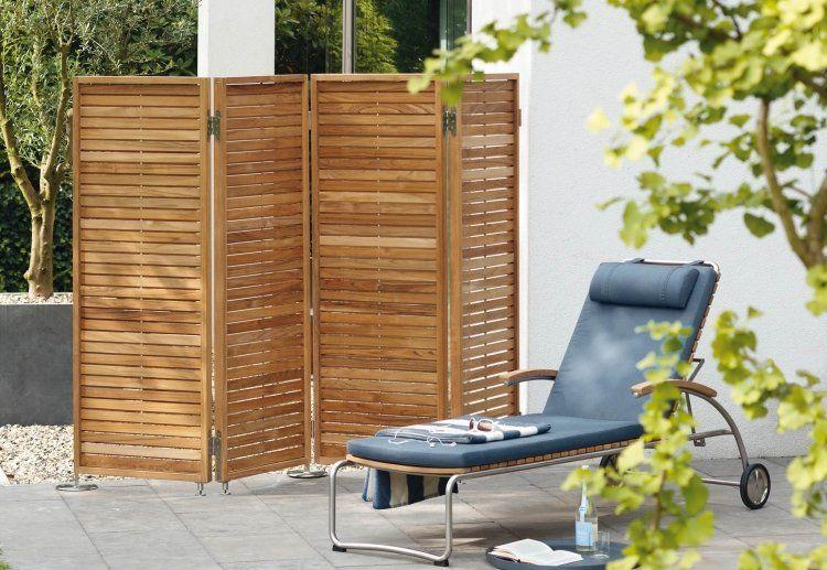 Bildergebnis für holz terrasse sichtschutz W Garten TERRASSEN