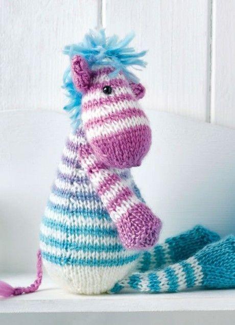 Zebra, Sausage Dog & Snake | Animal knitting patterns ...