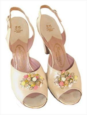 Martinique Vintage Sling Back Vintage 1950s Shoes