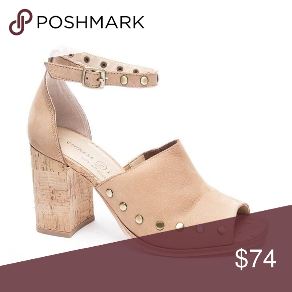 660c81c8f76 Savannah Cork Heel by Chinese Laundry New in Box! 👡 Featuring a stunning  cork-textured heel