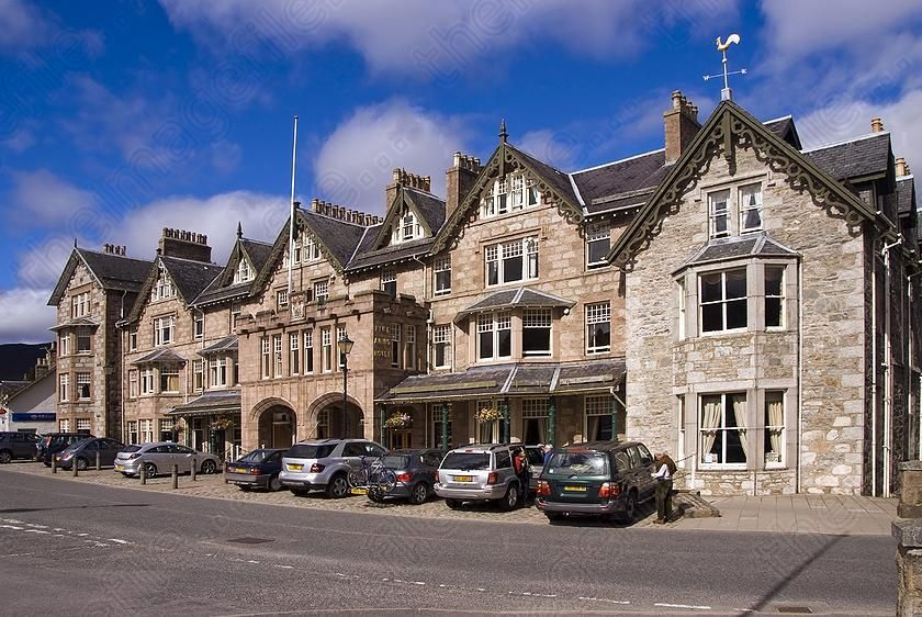Braemar Scotland The Fife Arms Hotel Formerly Hunting Lodge Of Earl