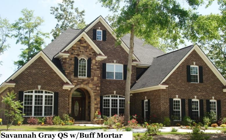 house exterior brick and stone - Yahoo Search Results- just wish ...