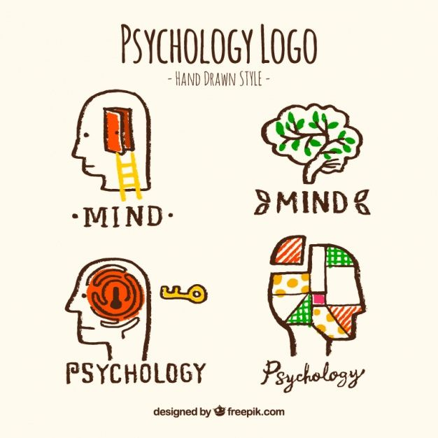 Download Hand Drawn Psychology Logos For Free How To Draw Hands Hand Drawn Logo Design Psychology
