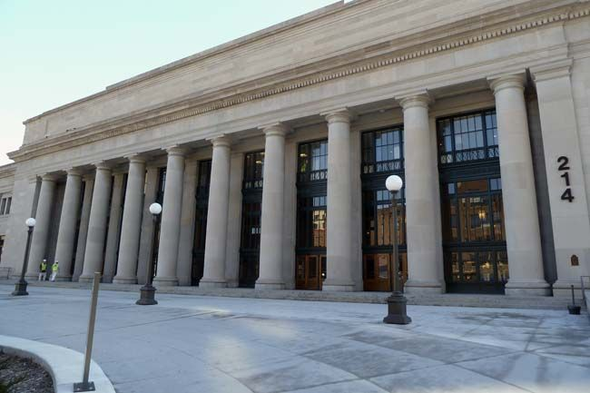St Paul S Union Depot To Reopen As Transit Hub Next Month Railroad Station Milwaukee Road National Register Of Historic Places