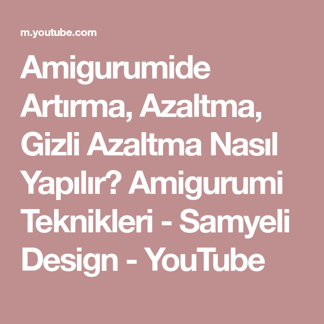 Amigurumi bulut yapımı - Canım Anne | 640x640