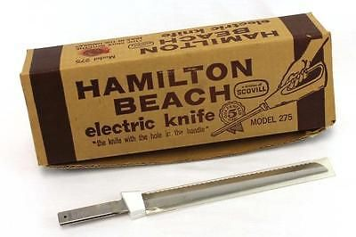 Vintage Hamilton Beach 275 Electric Knife Replacement Blades Only Electric Knife Hamilton Beach Electricity