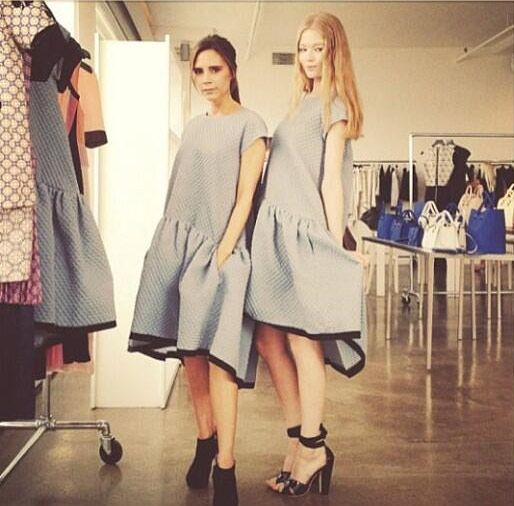 Victoria Beckham wows audience with second New York Fashion Week show