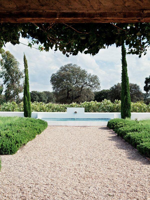 Felipe Díaz De Bustamante Piscina Jardin Patio Y Jardin Y