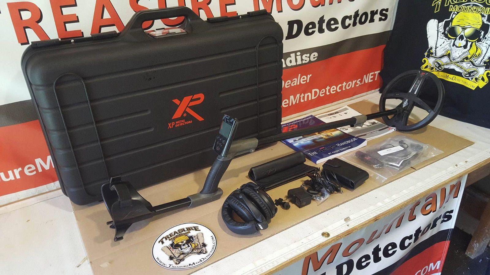 "Used XP Deus Metal Detector  Remote  9"" Coil  Hard Case  Water Kit  WS5 HP! https://t.co/avILwYQpFX https://t.co/ZjnkD3oDN4"