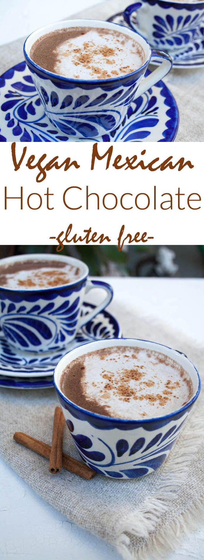 Vegan Mexican Hot Chocolate -