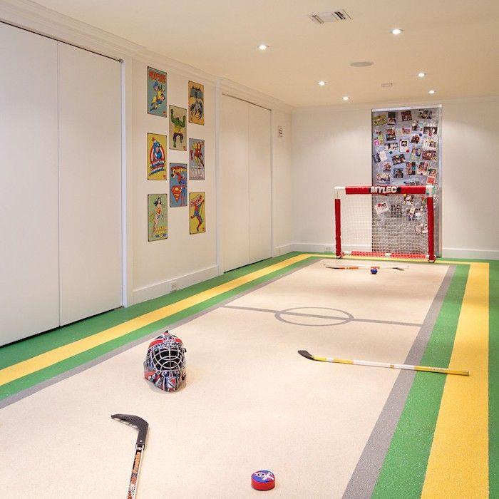 Keller Ausbauen Spielraum Für Die Heranwachsenden Jungs Sehr Praktisch Hell  Ansprechend
