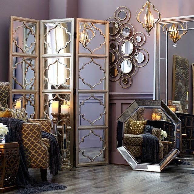 Shop Mirrors Wall Decor Mirror Room Divider Room Divider Room