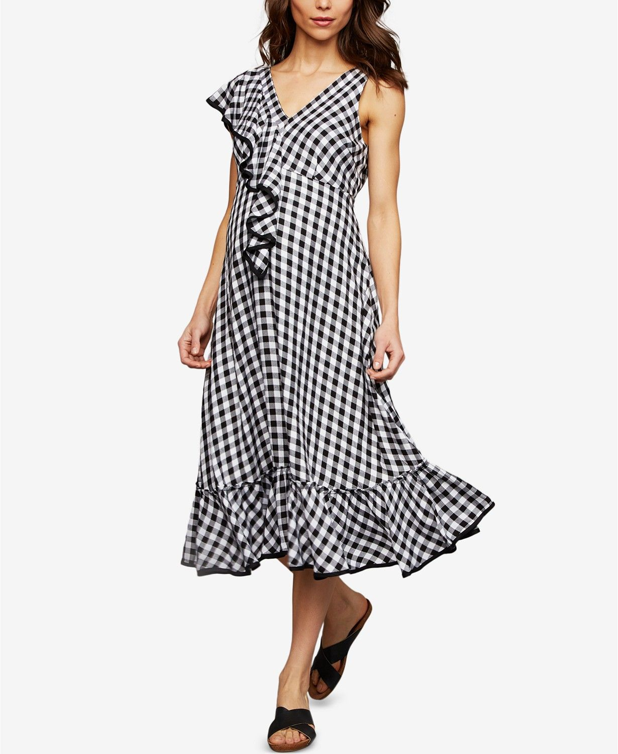 Jcpenney dresses for wedding guest  A Pea In The Pod Maternity Gingham Midi Dress  Gingham and Midi dresses