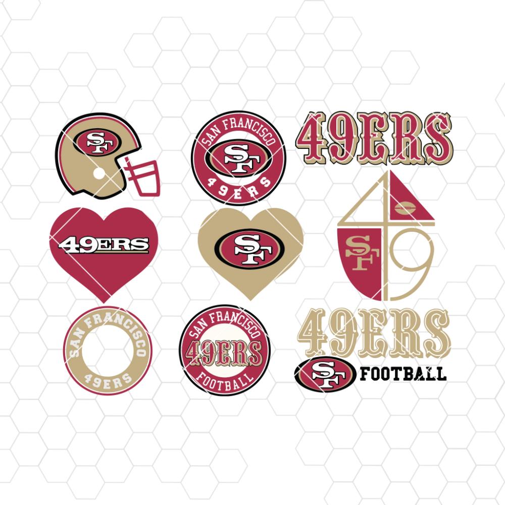 San Francisco 49ers SVG, San Francisco 49ers files, 49ers