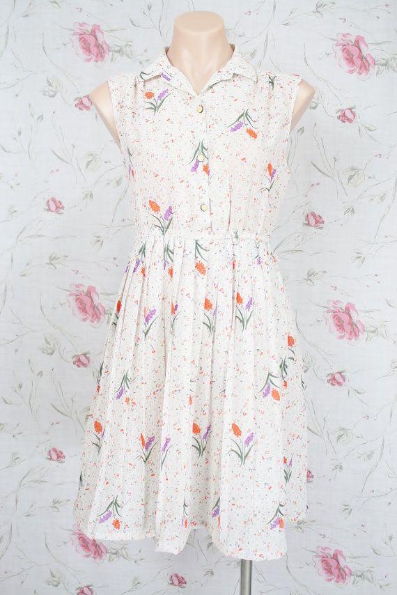 d57c7dbe15d2 Japanese vintage SHIRT DRESS by  renewvintage