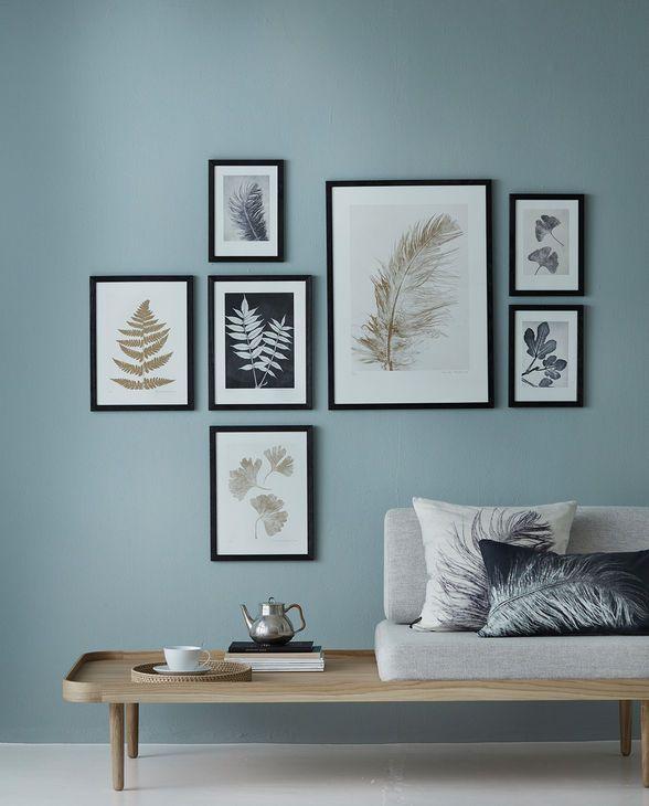 Wohnideen Wohnzimmer Braun Grn Gruene Wandfarben Idee: Bilder So Aufhängen … In 2019