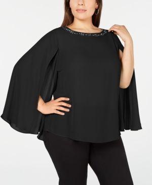 d51b9105f6 Blusas negras elegantes para gorditas
