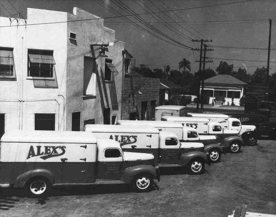 Alexs tamale company 1950 in anaheim california