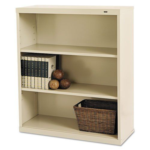 Tennsco B42py 34 1 2 By 13 1 2 By 40 Inch Metal Bookcase With 3