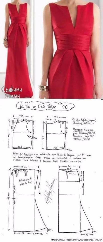Facebook | Patrones | Pattern, Dress patterns y Sewing