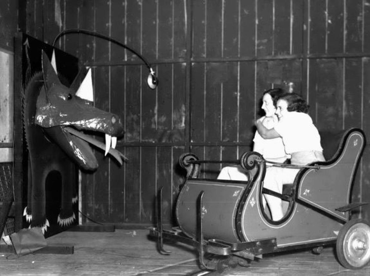 Vintage carnival ride www imgarcade com online image arcade - Amusement Parks
