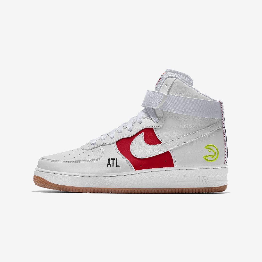 Nike Air Force 1 Low Premium iD (Atlanta Hawks) Men's Shoe