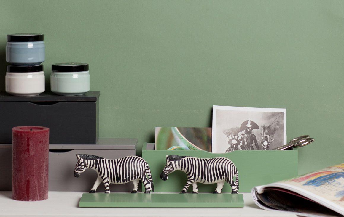 Wandfarbe Grün grün grau