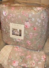 6P RALPH LAUREN Margate Mews Floral CAL KING COMFORTER SET NEW 1ST QUALITY