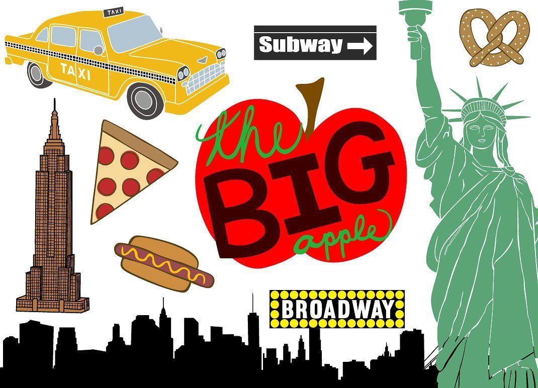 14+ New york city clipart ideas