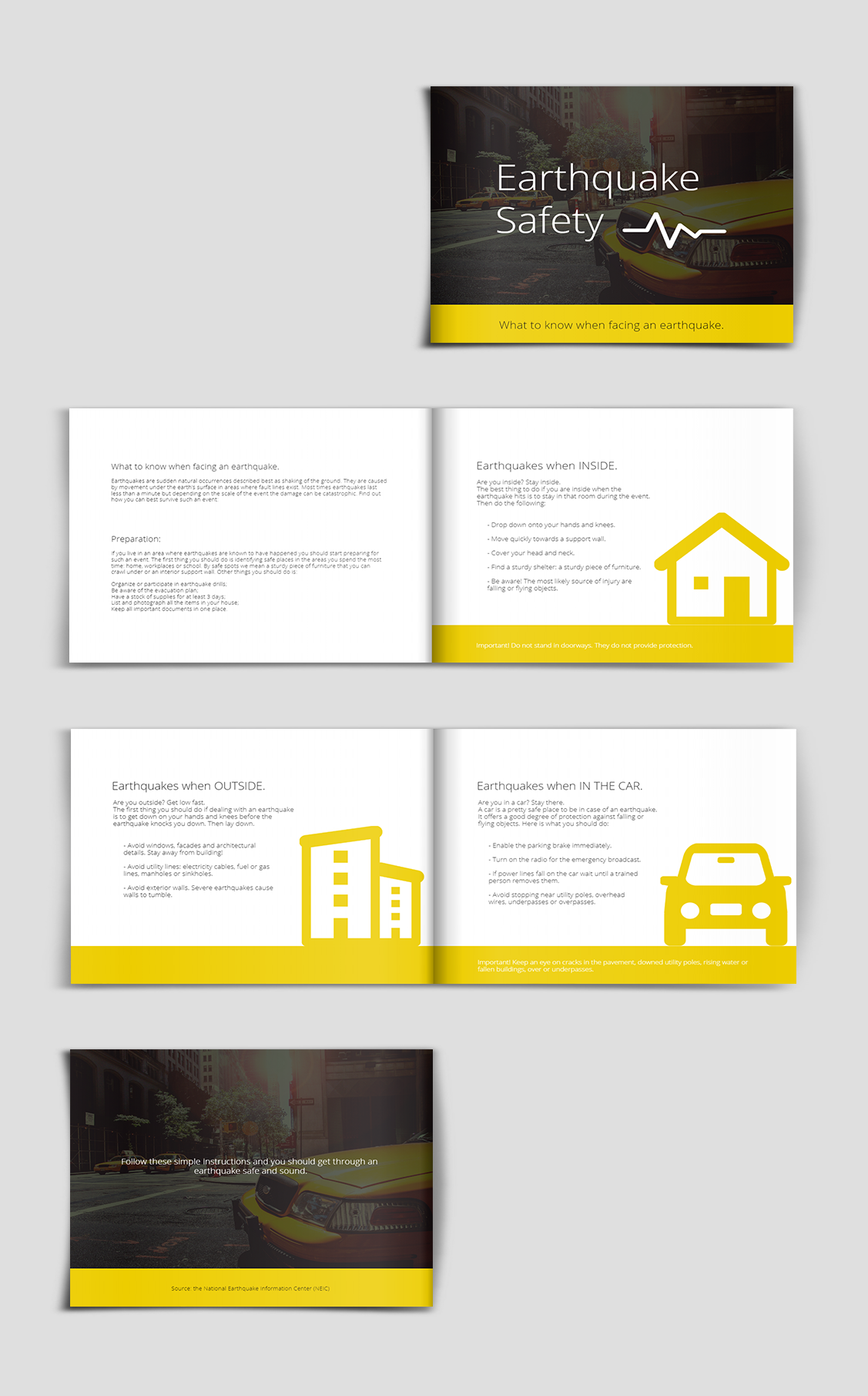 Safety Guide Presentation Template | Presentation Template