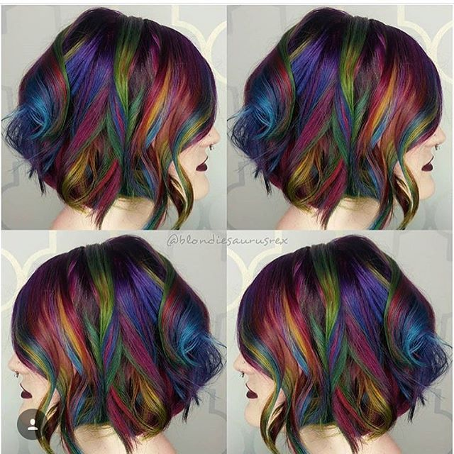 Pin On Bright, Fun And Funky Hair Colors