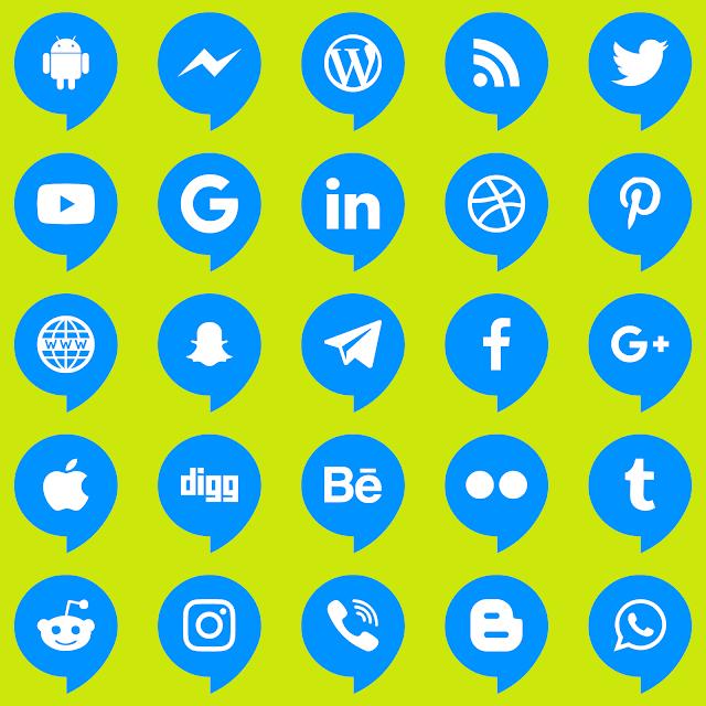 تنزيل ايقونات مواقع التواصل فيكتور مجانا تحميل رموز مواقع التواصل الاجتماعي Download Icons Social Networks Svg Eps Creative Poster Design Icon Social Networks